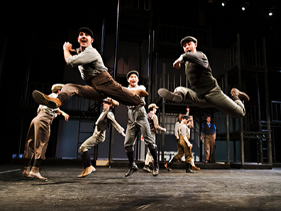 Company in The Drayton Entertainment production of Disney's Newsies