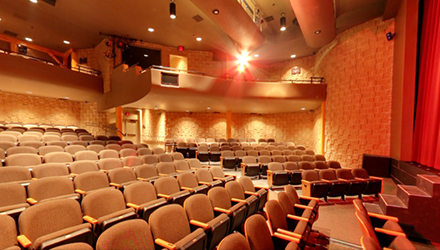 auditorium at the St. Jacobs Country Playhouse