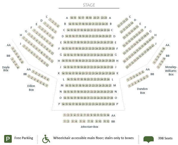St. Jacobs Country Playhouse Seating Chart