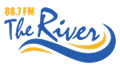 88.7 FM The River logo