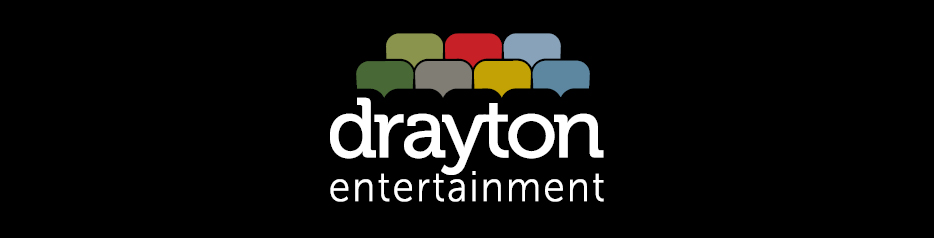 Drayton Entertainment Logo on black background