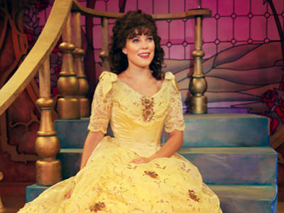 Jessica Gallant as Belle in Disney's Beauty and the Beast, Drayton Entertainment, 2019 Season.
