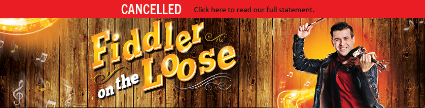 Artwork for Fiddler on the Loose marked cancelled