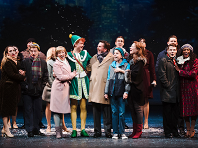 Tim Porter and the Company of ELF: The Musical, Drayton Entertainment, 2019 Season