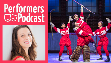 Performers Podcast with Tracey Power; cast of Glory